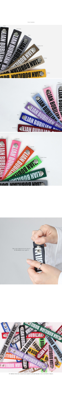 버빌리안(BUBILIAN) [버빌리안] Point Logo Bracelet _ 17 Color